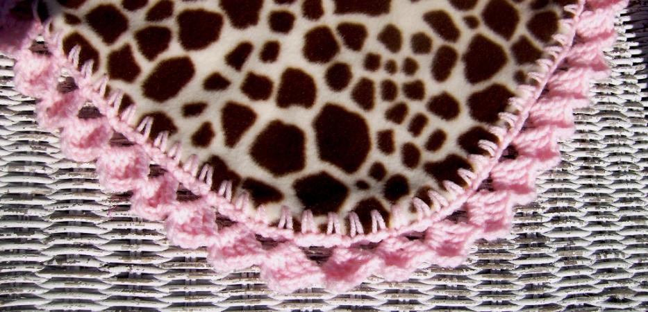 Our CroEdge Blades for Making Crochet Holes in Fleece and Flannel-giraffeclose-jpg