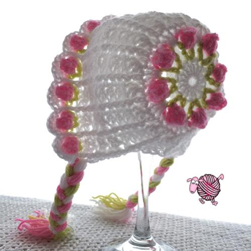 Little Miss Flower Beanie & Bonnet-img_5670-jpg