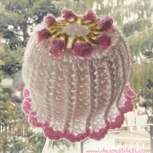 Little Miss Flower Beanie & Bonnet-pretty-little-miss-flower-beanie-jpg