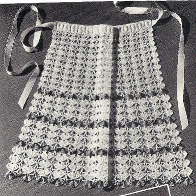 Cockleshells and a vintage lace ribbon-222-cockleshells-crochet-apron-jpg