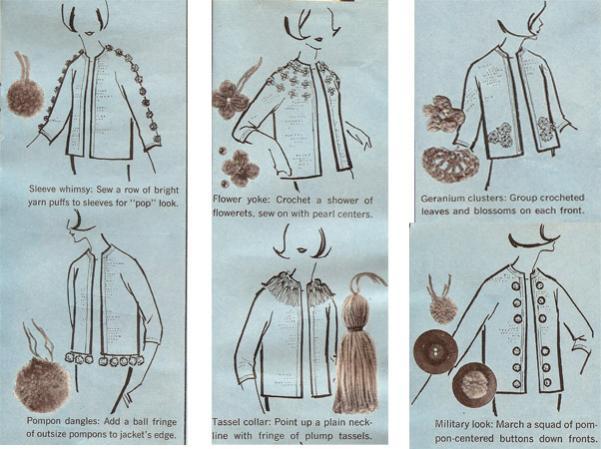 Crocheted Trim - Vintage 1960's style-free-crochet-pattern-pompom-tassel-trim-jpg