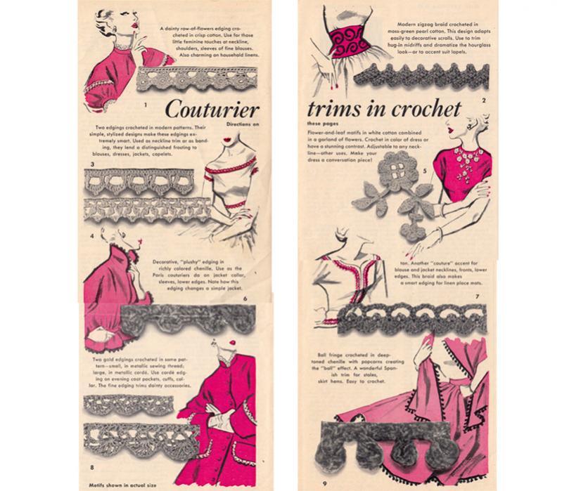 Crochet Trim Couturier - Take me to 1952-free-couturier-crochet-edging-trim-pattern-jpg