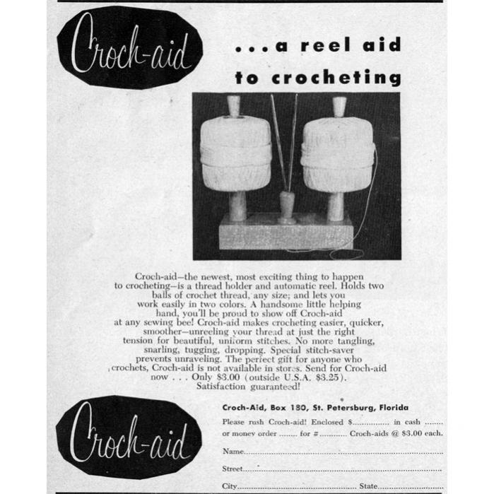 Croch-Aid Tool-croch-aid-thread-holder-1956-adv-jpg