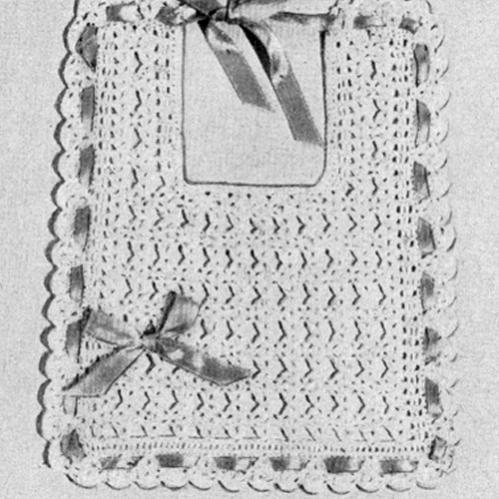 Vintage Heirloom Baby Bib Crochet Pattern-free-baby-bib-crochet-pattern-jpg