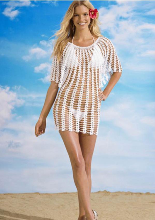 Angel Sleeve Crochet Tunic Free Pattern-crochet-beach-tunic-jpg