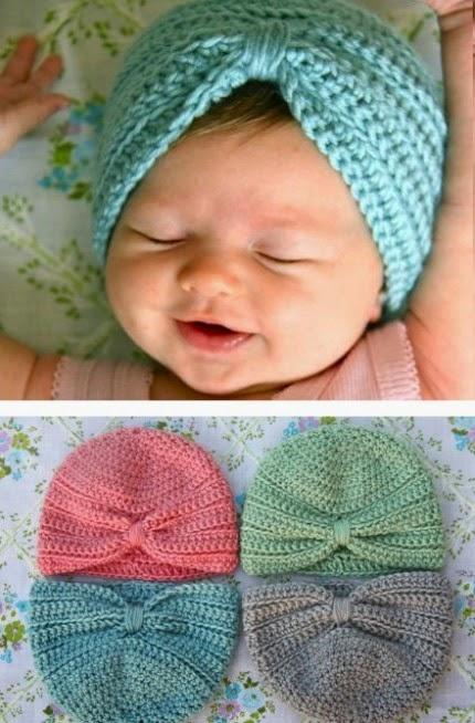 Crochet Baby Turban - Pattern & Tutorial-crochetbabyturban-u00252b-jpg