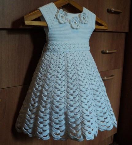 White Dress for Little Angle-crochetwhitedressforlittleangle-jpg