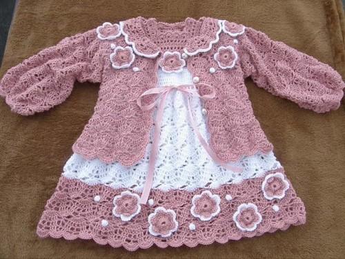 Kids Crochet Dress - Free Diagrams-crochetdress-jpg