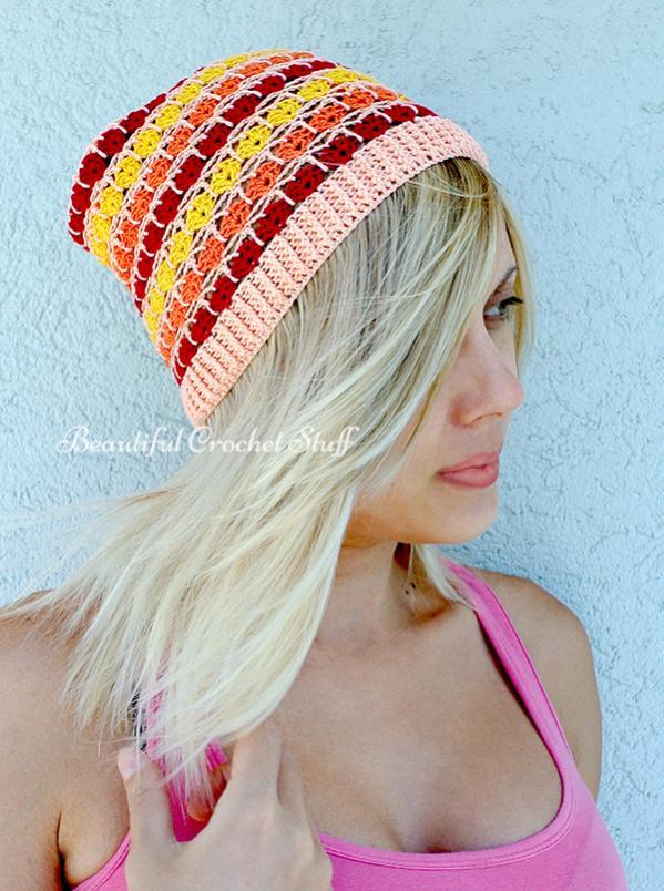 Crochet Summer Beanie Free Pattern-crochet-summer-hat-1-jpg