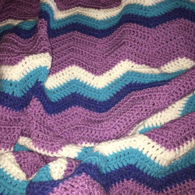 Chevron Toddler or Crib Blanket-img_0292-jpg