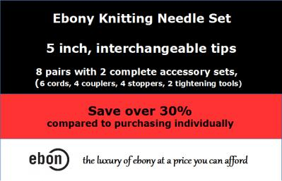 Save big on Ebony Crochet Hooks and Needle sets!-int-corr-jpg