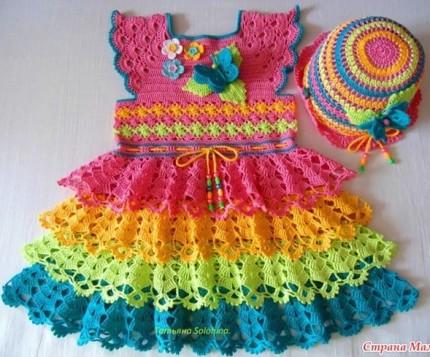 Pretty Crochet Dress for Girl-prettycrochetdressforgirl-jpg