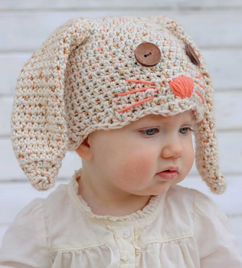 """Little Bunny Foo Foo"" Bunny Hat - Free Pattern-littlebunnyfoofoobunnyhat-jpg"