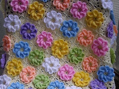 Wonderful Flowers Blanket... Free Diagram-wonderfulflowersblanket-jpg