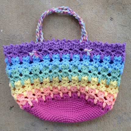 Beautiful colors... Great idea... Cat Bag  (Tutorial)-catbag-jpg