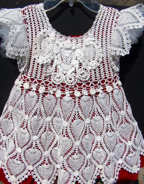 Pineapple party dress... Free pattern-pineapplepartydress-jpg