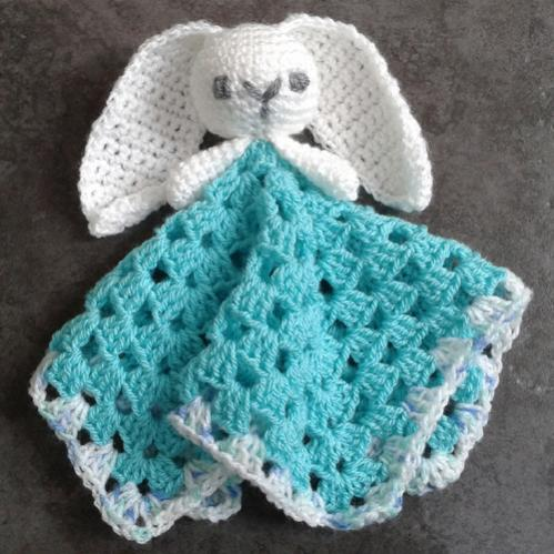 Cute Bunny Comforter / Lovey - Free Pattern-cutebunnycomforter-jpg