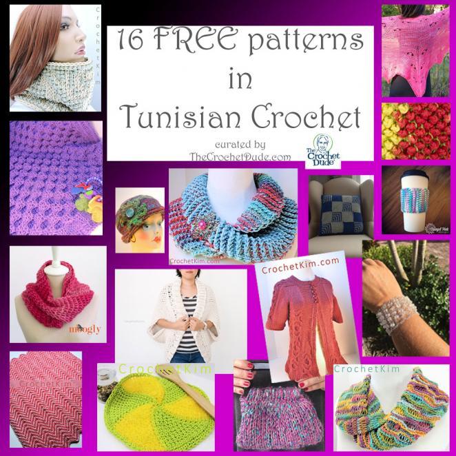 16 FREE patterns in Tunisian crochet!-tunisianroundup-jpg
