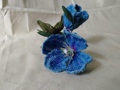 Free Himalayan Blue Poppy Crochet Flower-1492545353022-jpg