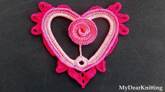 Gorgeous Crochet Heart with a Rose - Tutorial-crochet-1-jpg