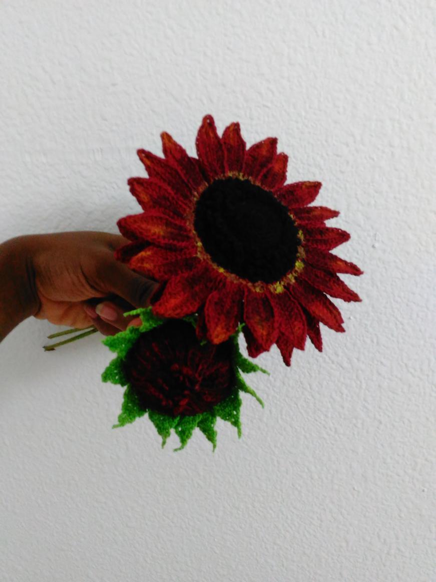 Velvet Queen Sunflower. Work in Progress!!! ;)-img_20170717_123622-jpg