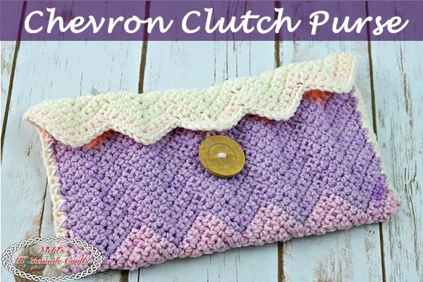 New Free Pattern Chevron Clutch Purse-chevron-clutch-purse-free-crochet-pattern-nickis-homemade-crafts-600x400-jpg