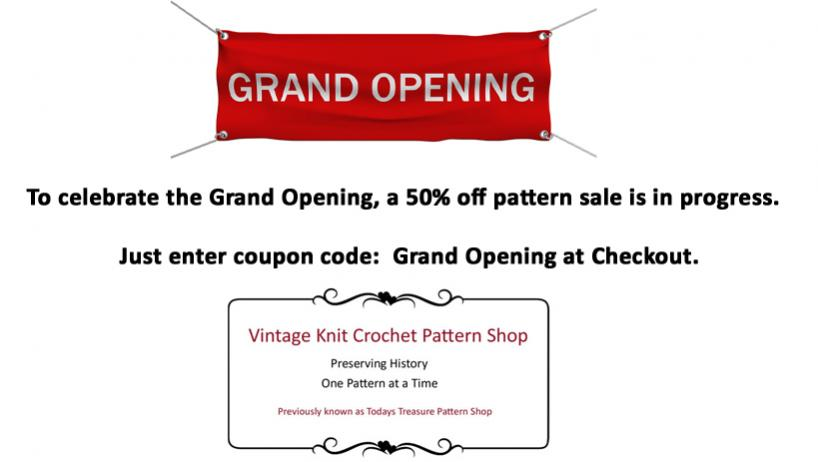 Grand Opening - 50% off Sale in progress-pinterest-grand-jpg