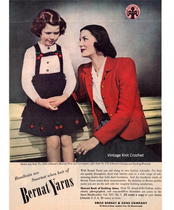 Bernat HandiCrafter XIV Pattern Book Set-bernat-handicrafter-1944-45-advertisement-mccalls-jpg