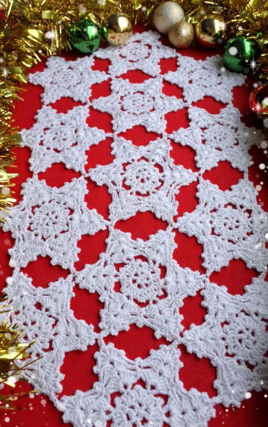 Crochet Snowflake Table Runner-crochet-table-runner-pattern-4-jpg