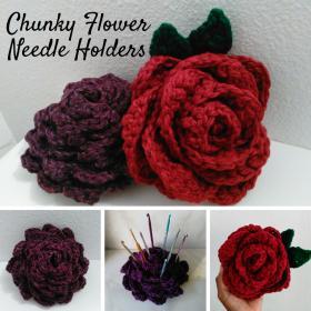 Flower Needle Holder Plush-chunky-flower-needle-holders-jpg