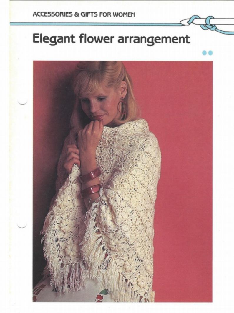 Elegant Flower Arrangement Shawl Pattern-shawl-jpg
