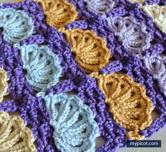 The Shell Stitch by MyPicot-shell-jpg