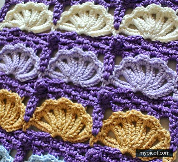 The Shell Stitch by MyPicot-shell1-jpg