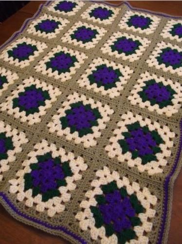 """PURPLE PASSION"" available at GrannyBlankets.com-vintage-crochet-blankets-sale-2-jpg"