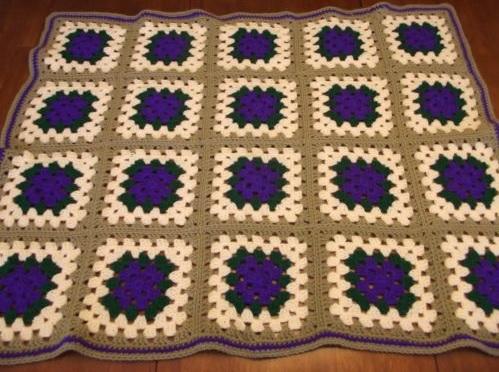"""PURPLE PASSION"" available at GrannyBlankets.com-vintage-crochet-blankets-sale-jpg"
