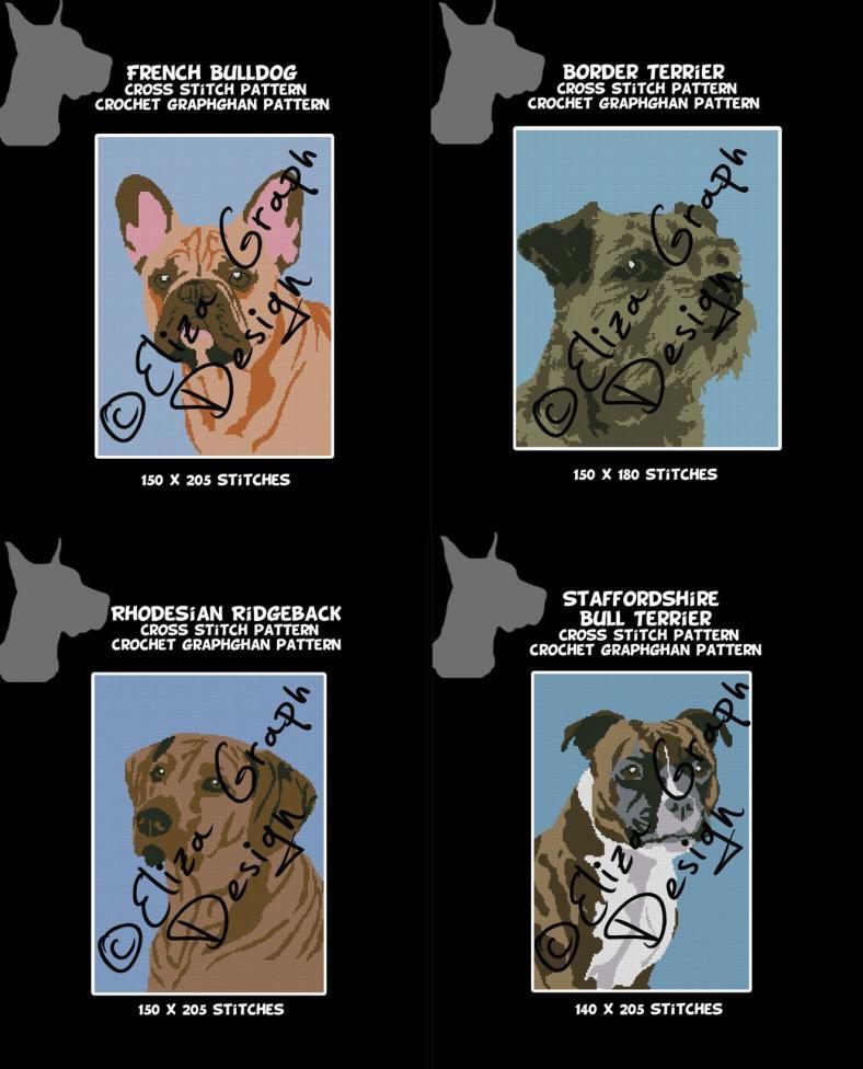 Border Terrier, Rhodesian Ridgeback, French Bulldog and the Staffy-47312622_494871911001336_7055120297833267200_o-jpg