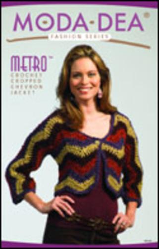 Seeking Moda Dea J18.0129, Metro: Crochet Cropped Chevron Jacket Pattern-modadeacantfind-jpg