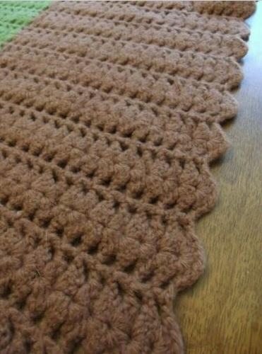 """AFRICA""  Nice earthy tone colors.  A nice afghan throw at GrannyBlankets.com-vintage-crochet-throw-blankets-jpg"