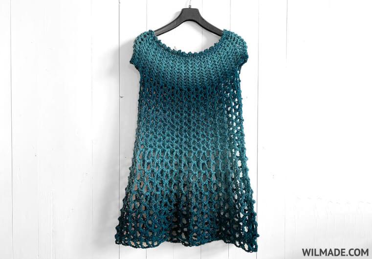Poncho Dress for Women, S-XXXL-dress-jpg