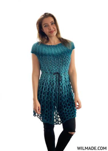 Poncho Dress for Women, S-XXXL-dress1-jpg