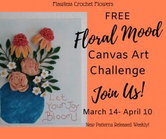 Free 3-D Crochet Flower Canvas Art Challenge-savvy-spring-sale-jpg
