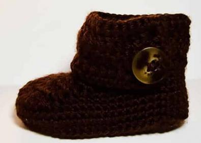 Wrap Around Button Booties Free Crochet Pattern (English)-wrap-button-booties-free-crochet-pattern-jpg