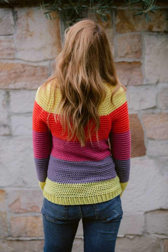 Top Down Crochet Sweater for Women, S-3XL-sweater1-jpg