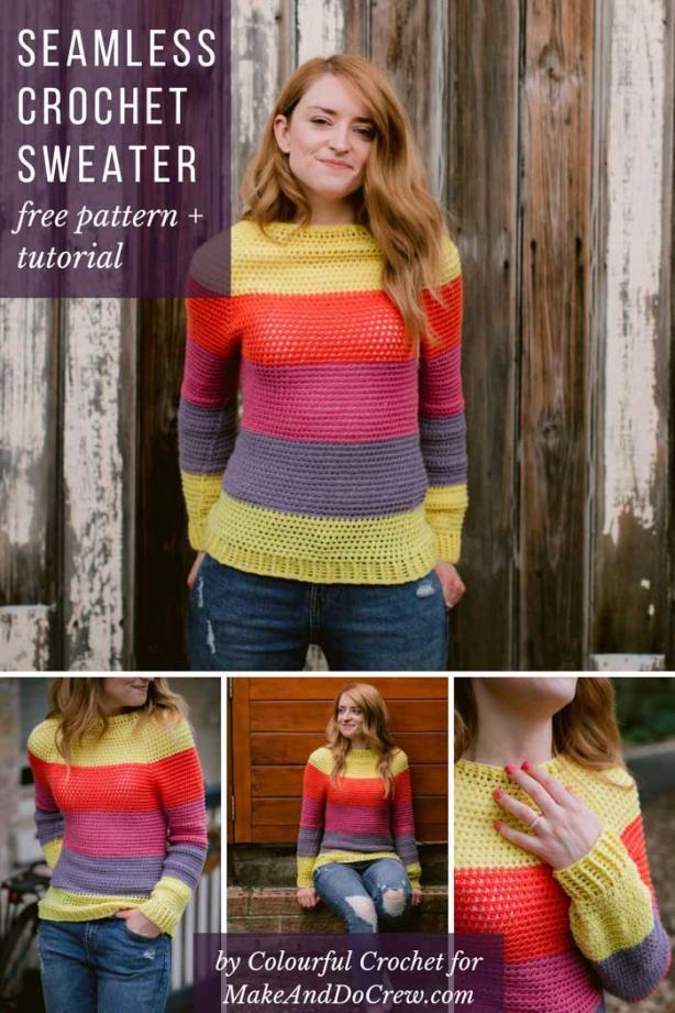 Top Down Crochet Sweater for Women, S-3XL-sweater2-jpg