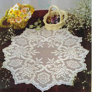 crochet doilies Filet Crochet-4-jpg