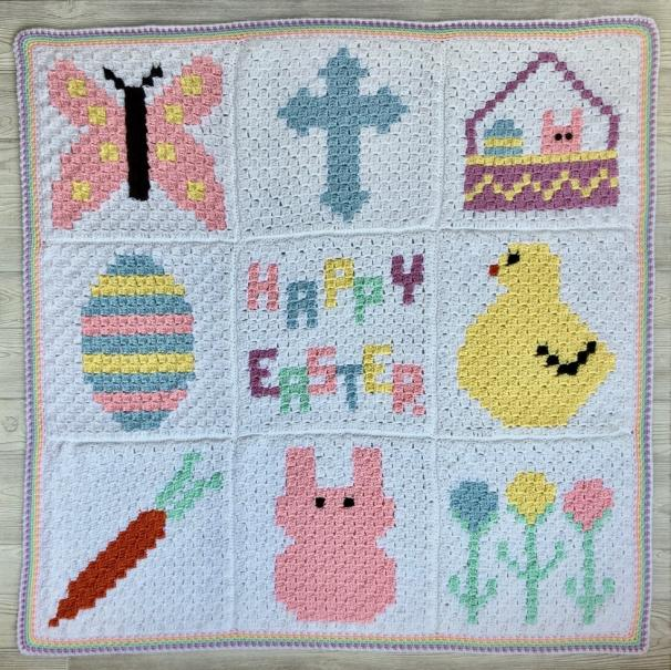Easter C2C Blanket CAL-c2c-jpg