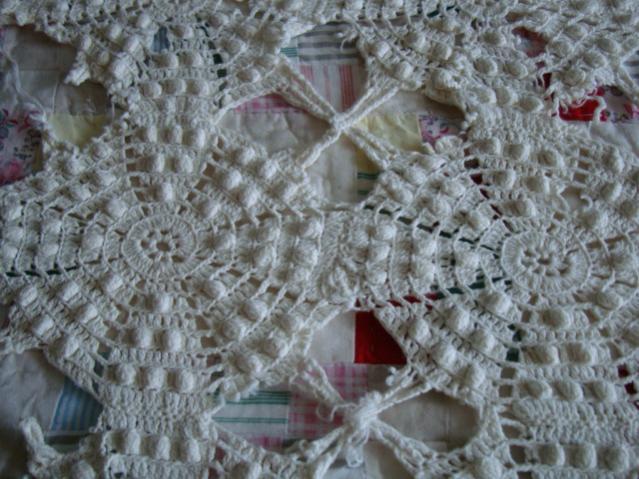 Great Grandmother's Crocheted Bed Spread-dsc04400-jpg