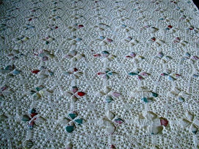 Great Grandmother's Crocheted Bed Spread-dsc04396a-jpg