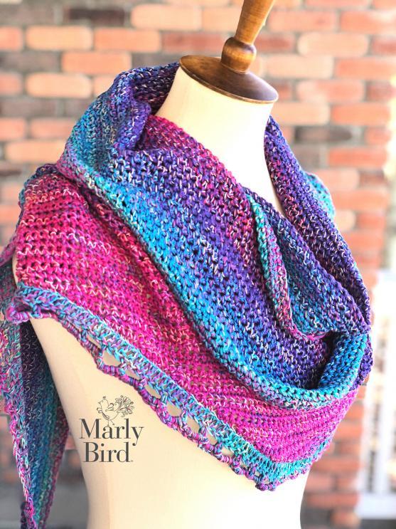 Rainbow Sprinkles Crescent Shawl-shawl1-jpg