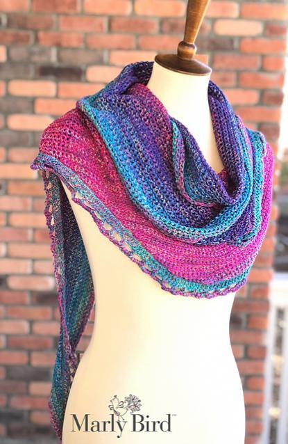 Rainbow Sprinkles Crescent Shawl-shawl2-jpg